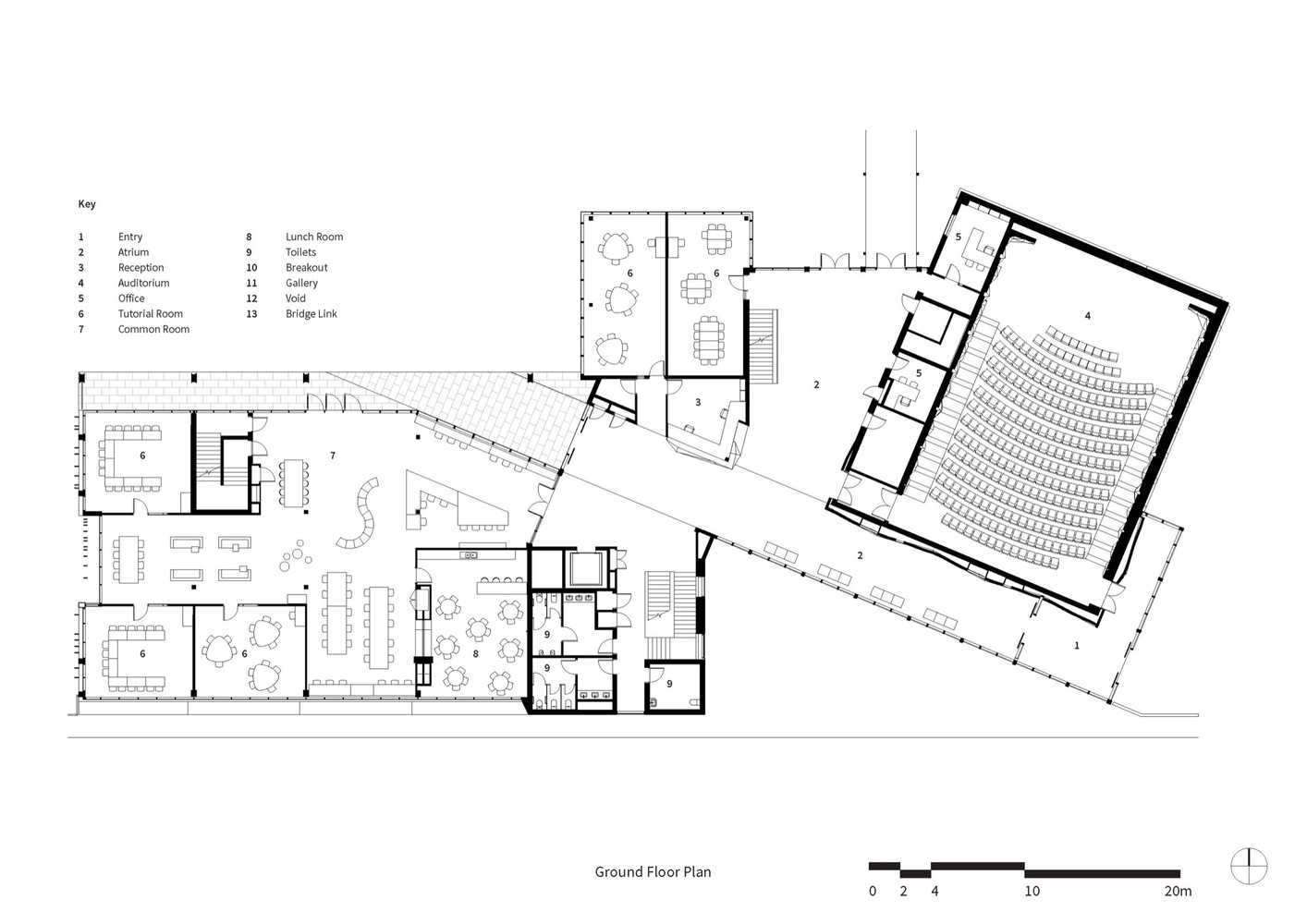 College Building Drawing At Getdrawings