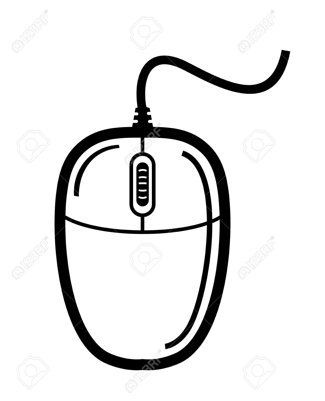 Computer Mouse Drawing At Getdrawings