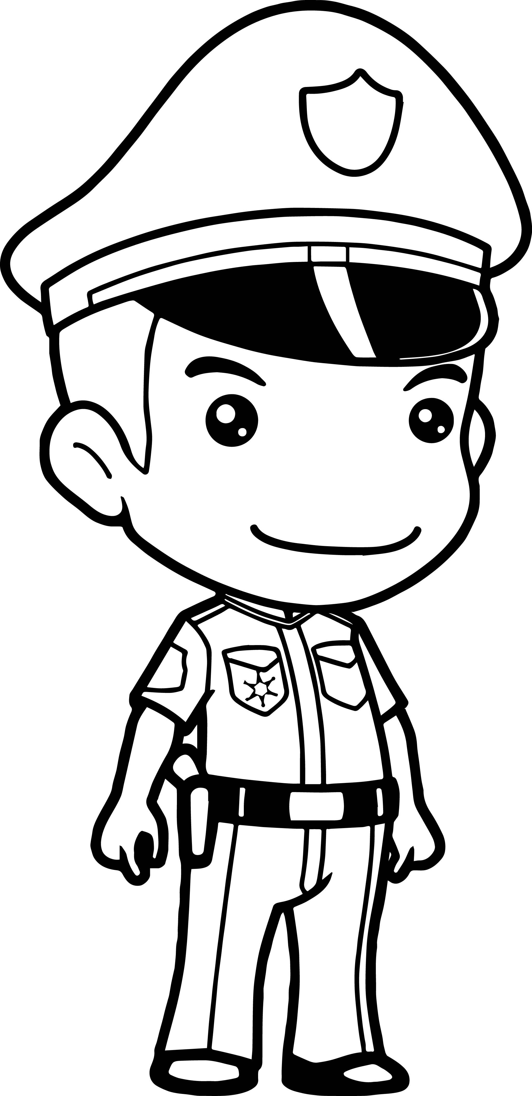 Cop Hat Drawing At Getdrawings
