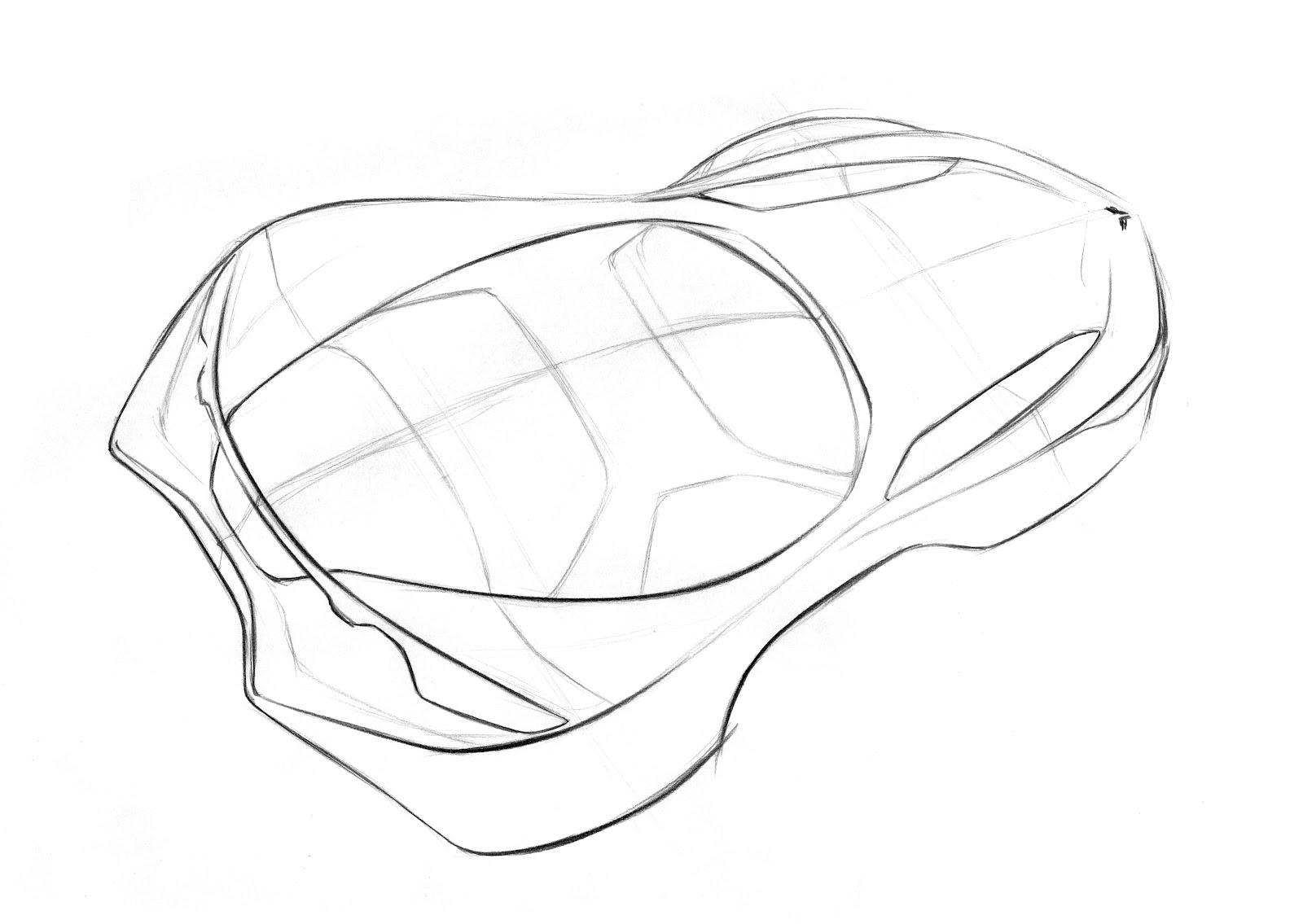 Corvette Stingray Drawing At Getdrawings