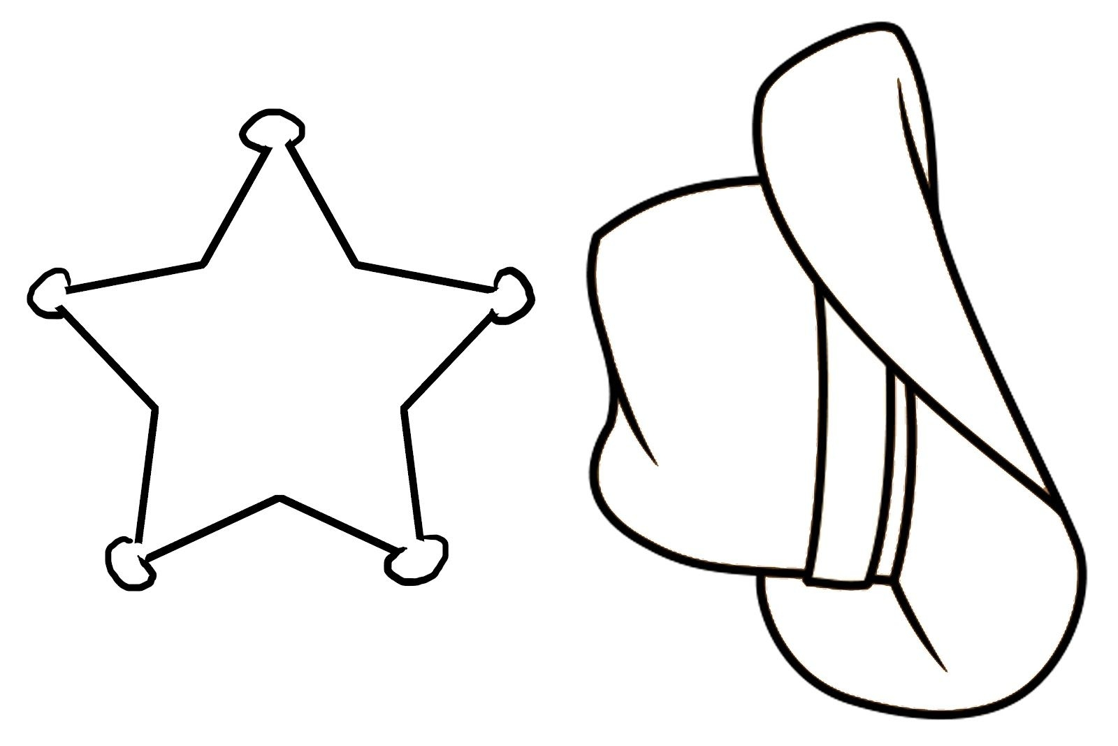 hight resolution of 1600x1067 cowboy hat coloring page 507487
