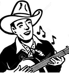 1300x1073 guitar clipart cowboy hat [ 1300 x 1073 Pixel ]