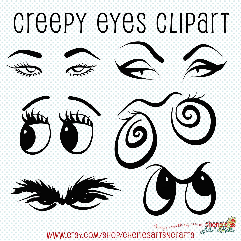 Creepy Eyes Drawing At Getdrawings