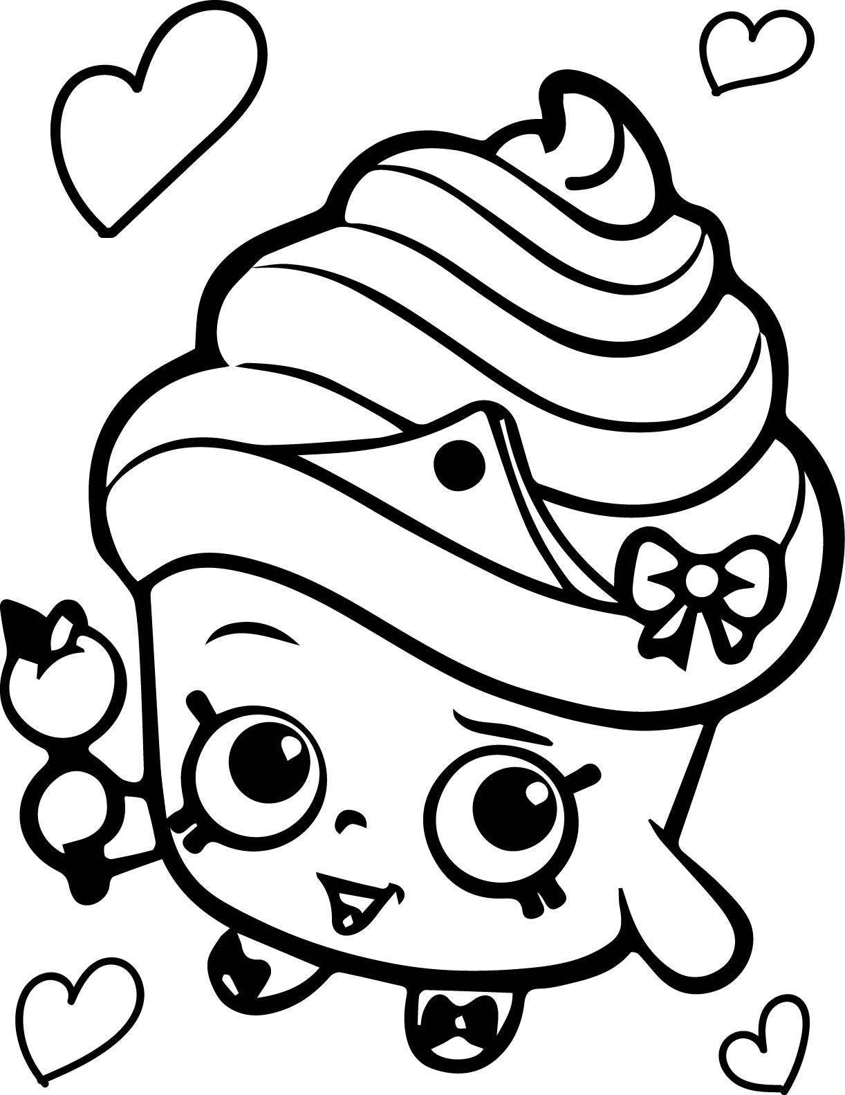 Cupcake Line Drawing At Getdrawings