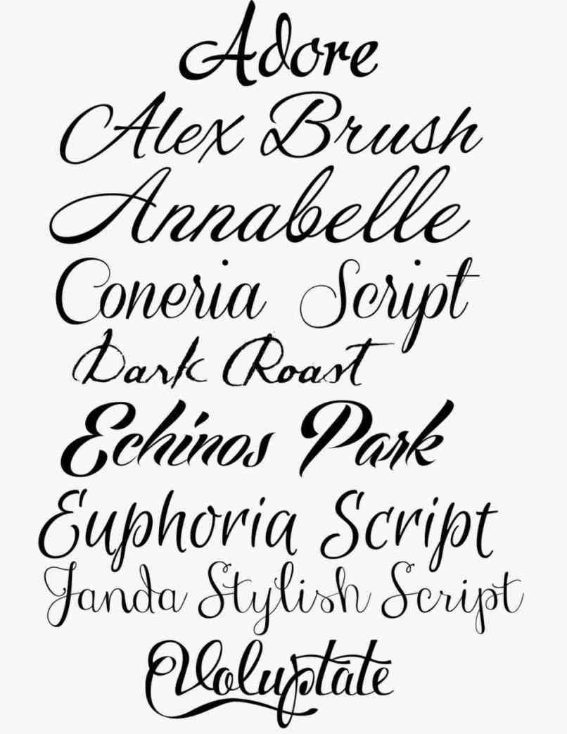 Fancy Cursive Lettering Tattoos | Aderichie.co