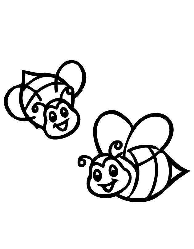 Cartoon Bee Drawing At Getdrawings Com