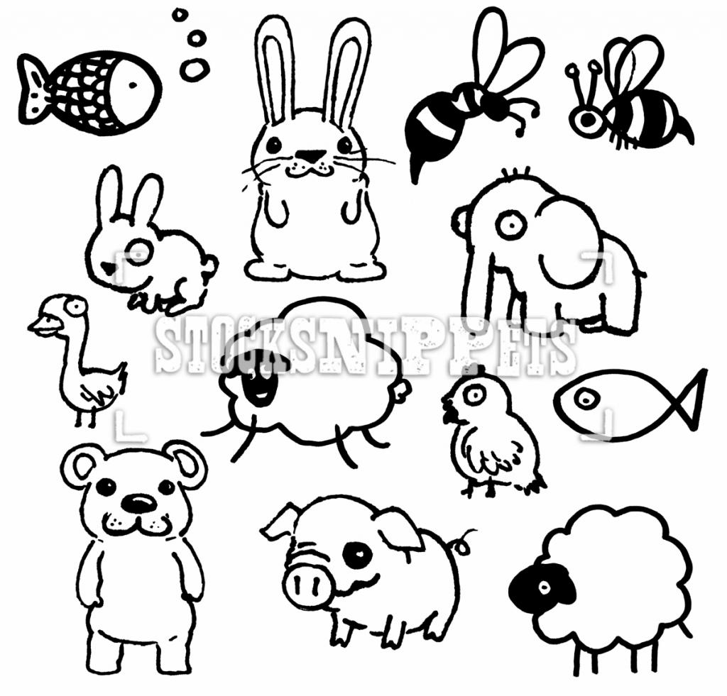 Cute Drawing Animals At Getdrawings