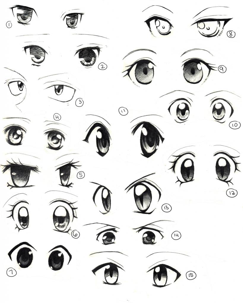 Cute Eyes Drawing : drawing, Drawing, GetDrawings, Download