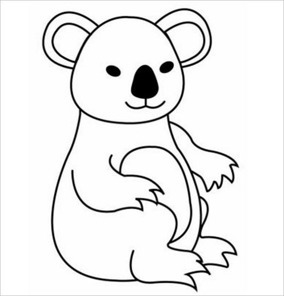 Koala Bear Drawing At Getdrawings Com