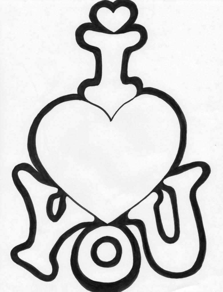 Easy Cute Love Drawings : drawings, Drawing, GetDrawings, Download