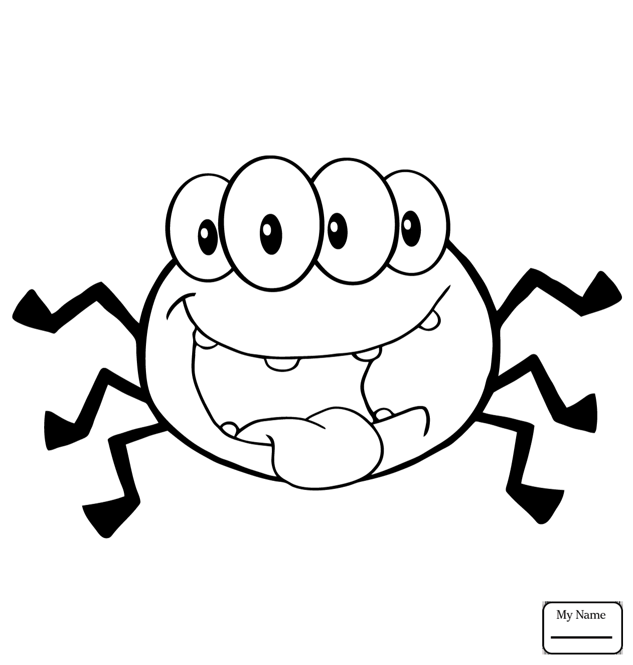 Cute Spider Drawing At Getdrawings