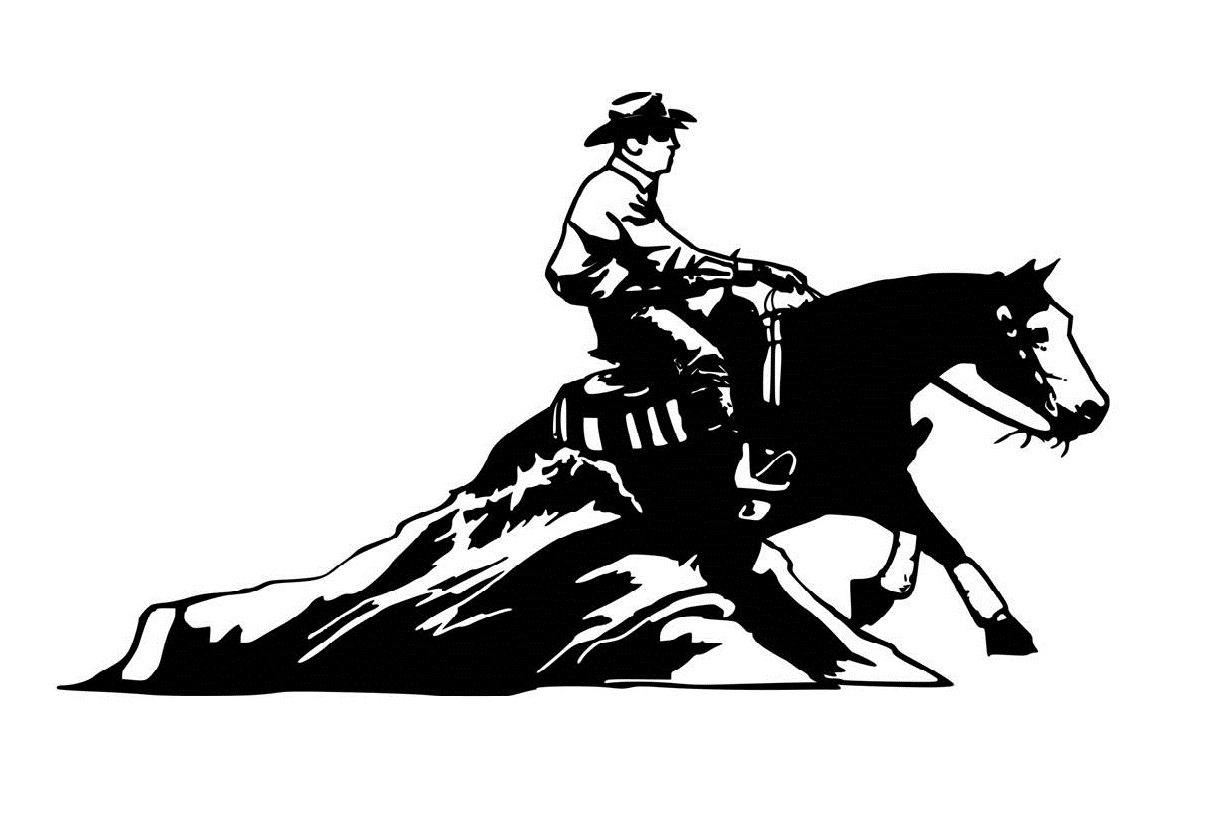 Cutting Horse Drawing At Getdrawings