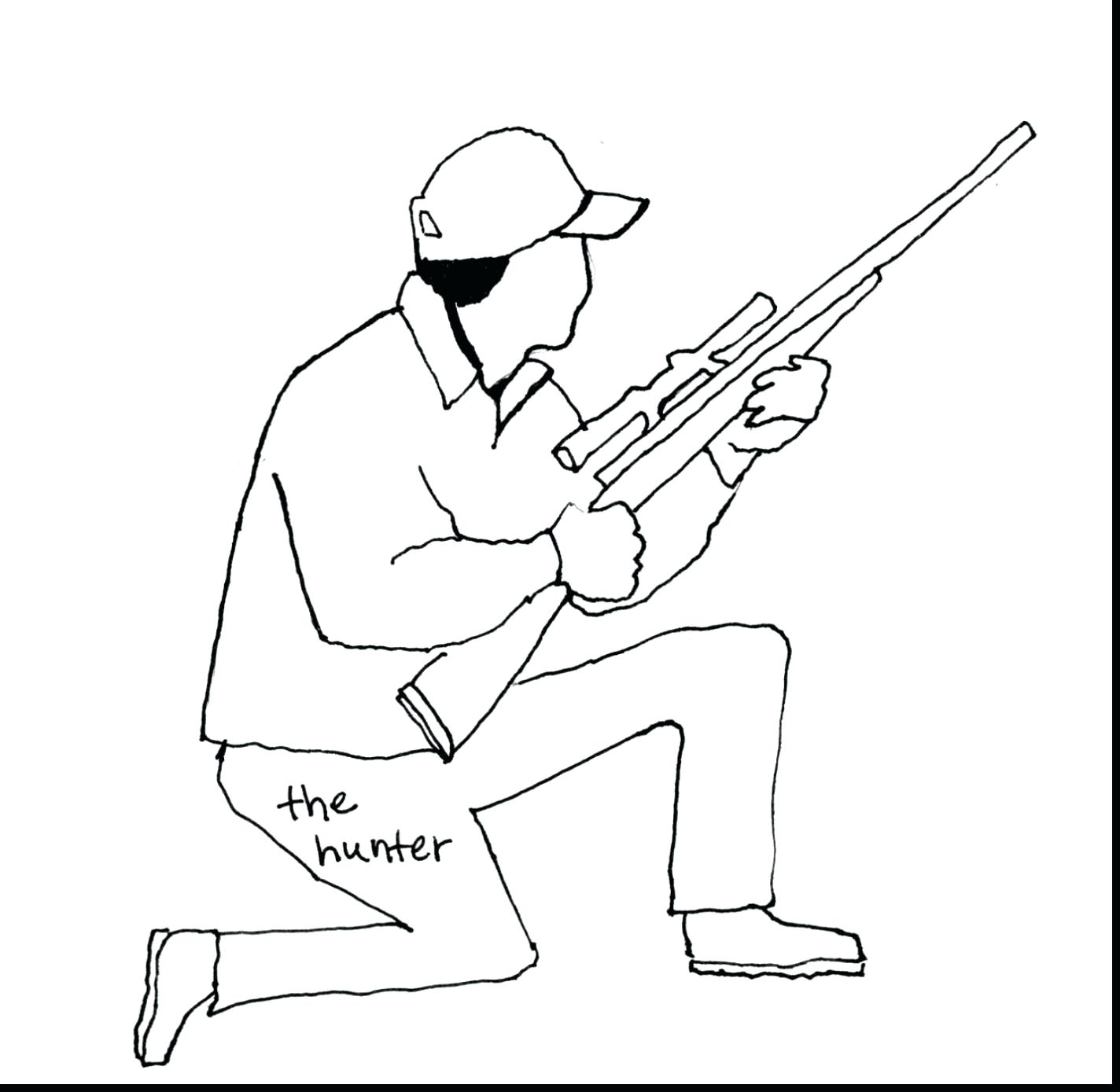 Deer Hunter Drawing At Getdrawings