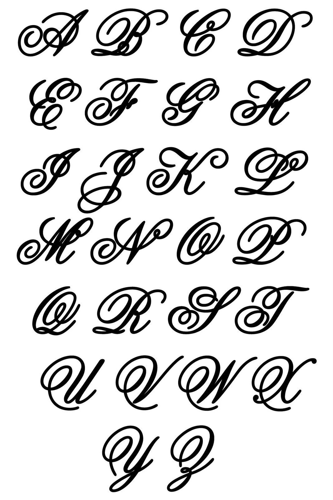 Different Lettering Styles For Drawing at GetDrawings.com