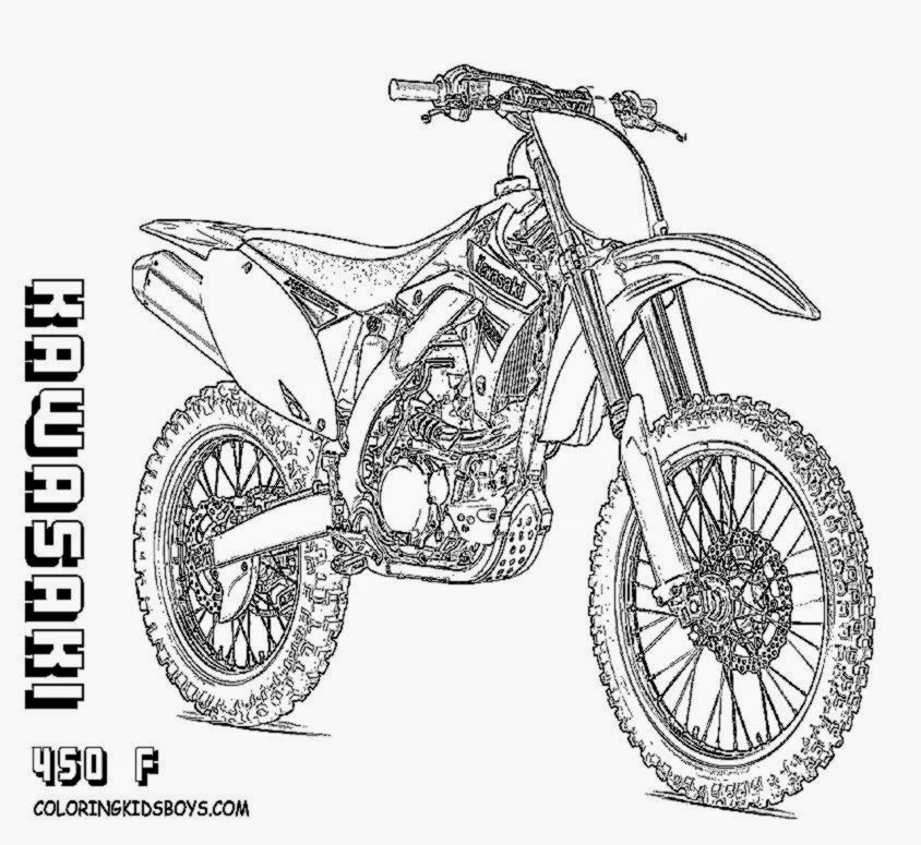 Dirt Bike Drawing At Getdrawings Com