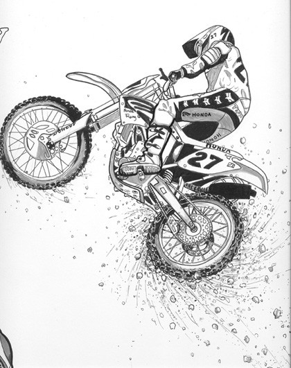 Yamaha Clipart Dirt Bike