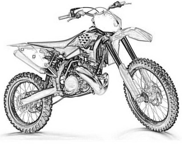 cuppaiprecpi: Ktm Disegni Di Motocross
