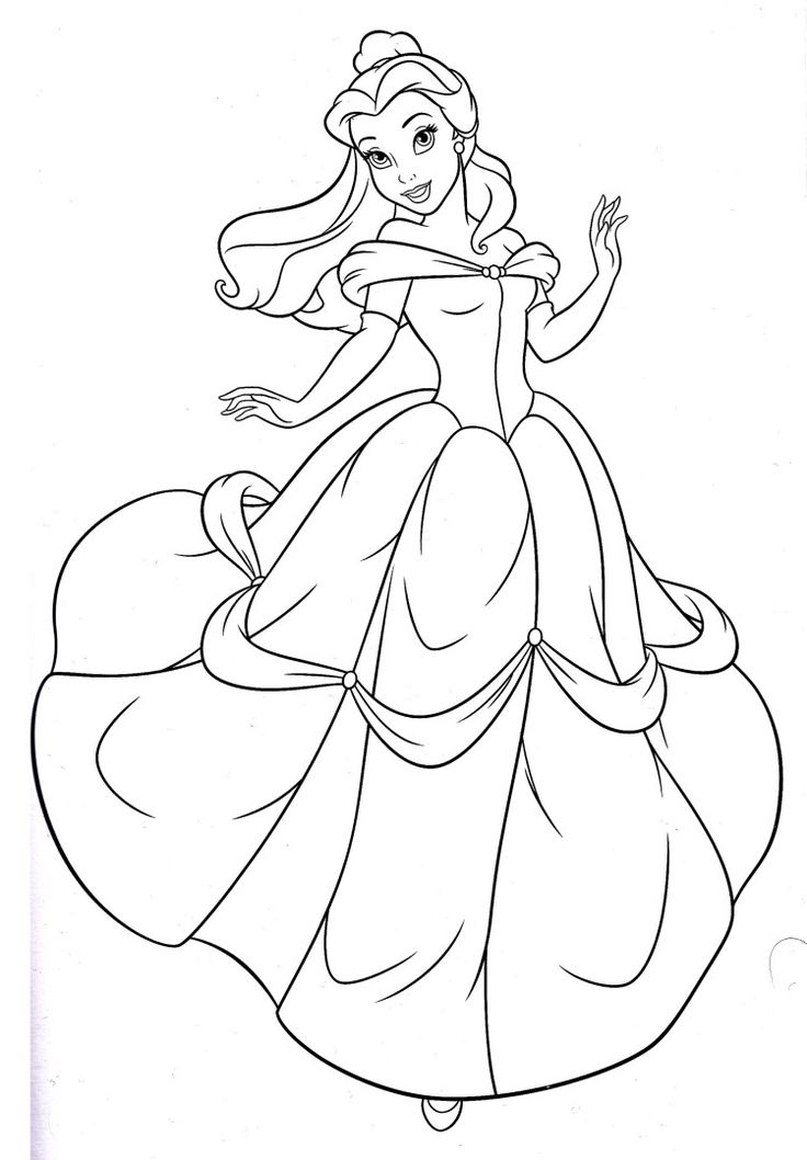Disney Character Outlines