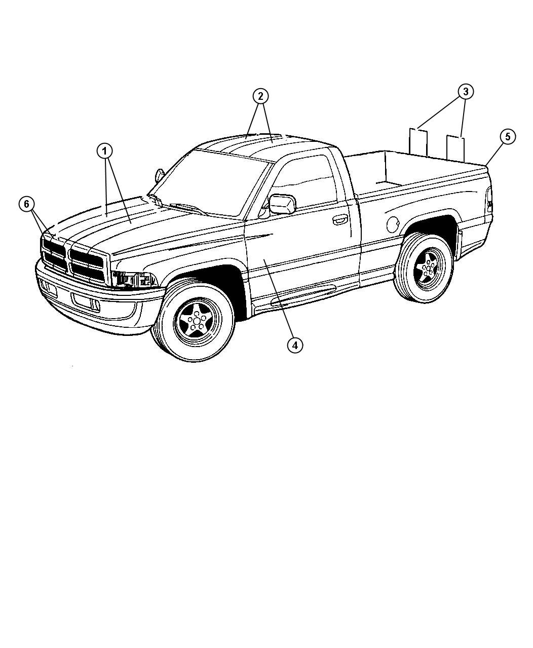 Dodge Ram 3500 Truck Drawing Sketch Coloring Page