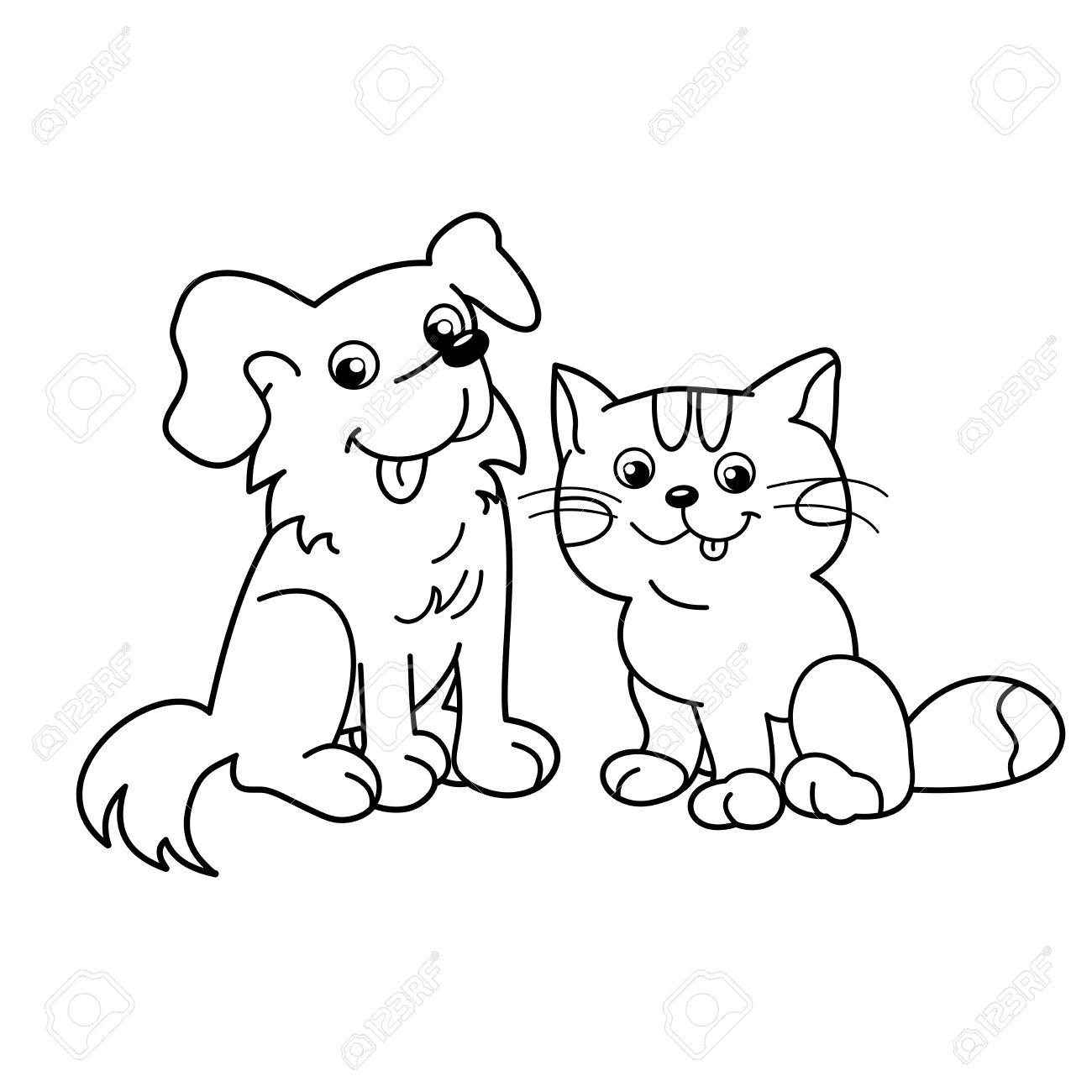 Dog Drawing Cartoon At Getdrawings