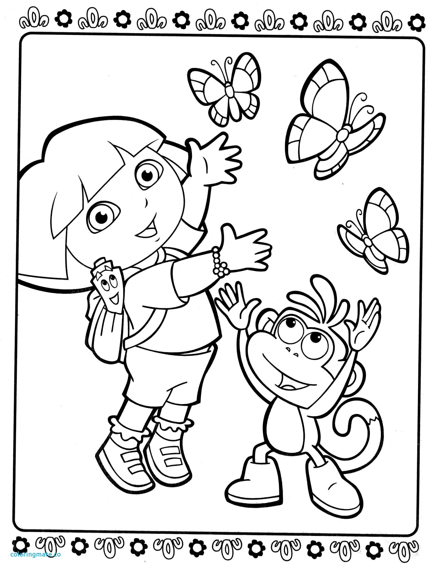 Dora And Friends Drawing At Getdrawings
