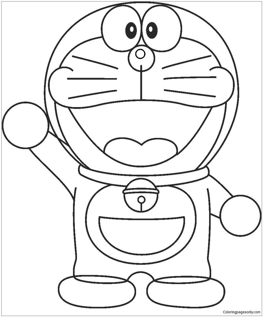 Doraemon Drawing Easy