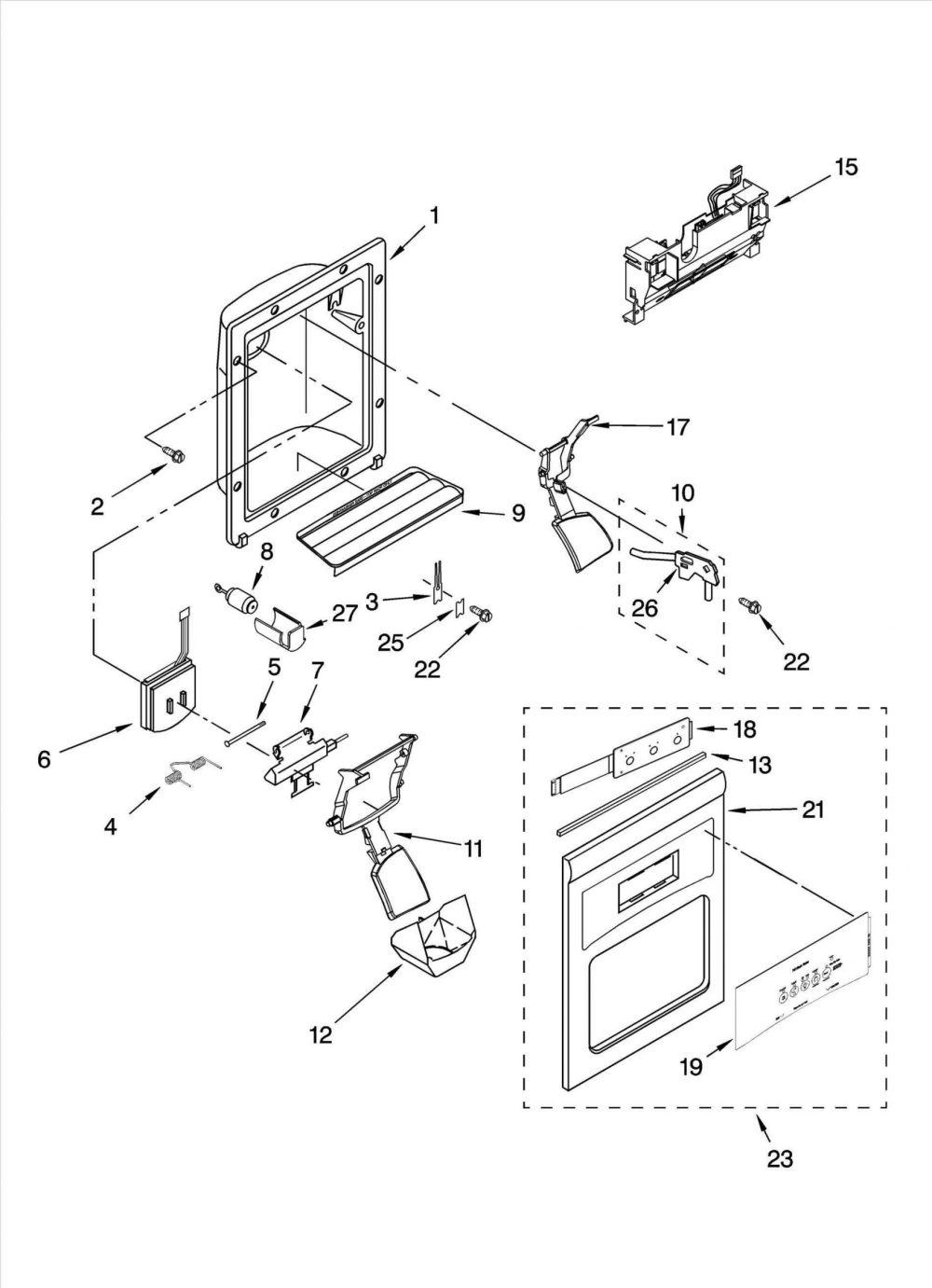 medium resolution of 1680x2321 double door refrigerator wiring diagram godrej bpl fridge