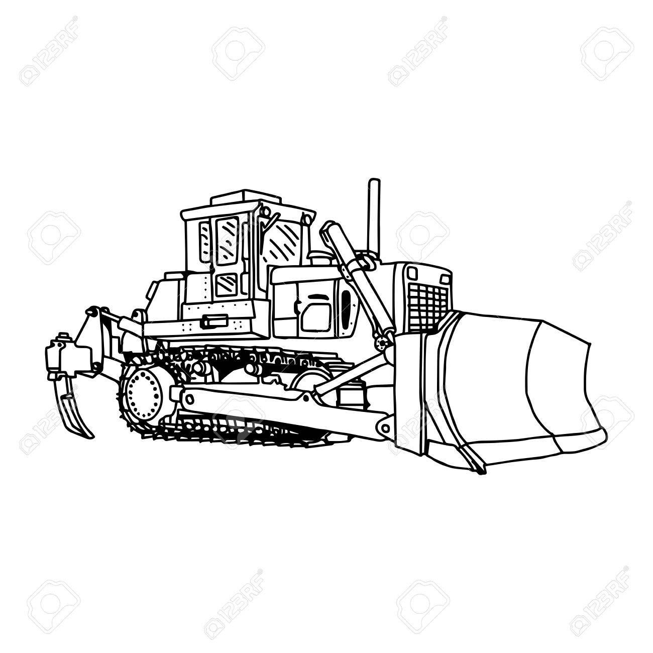 Dozer Drawing At Getdrawings