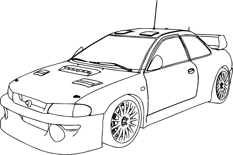 Indy 500 Coloring Pages Race Car Pictures