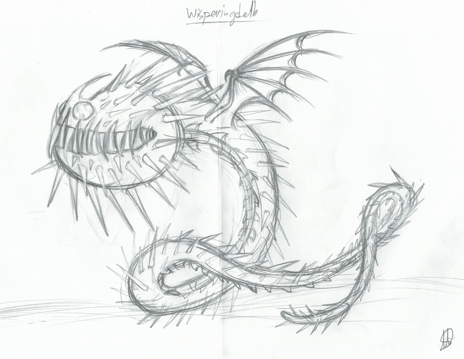 Dragon Drawing Pictures At Getdrawings