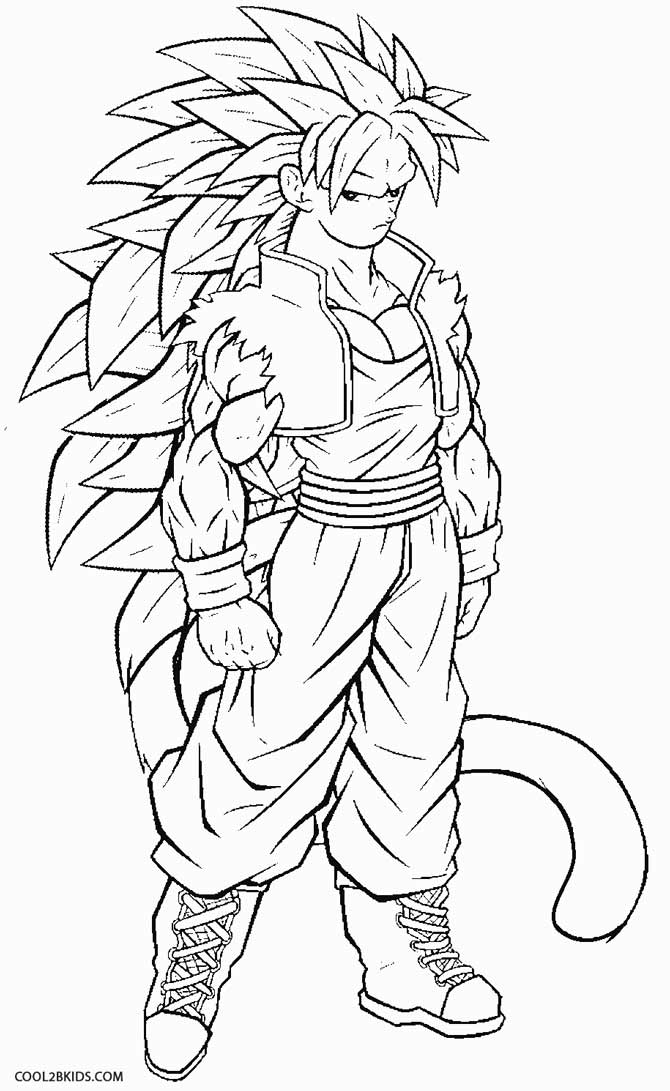 Super Buu Coloring Pages How To Draw Step By Dragon Ball Z