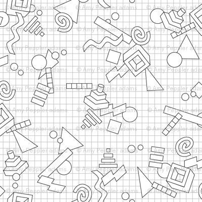 1 small tessellation graph paper 3333333412. grid paper is