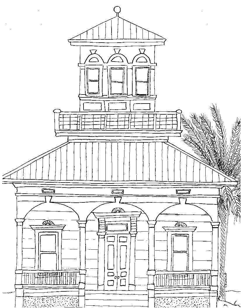 How To Draw A Dream House : dream, house, Dream, House, Drawing, GetDrawings, Download