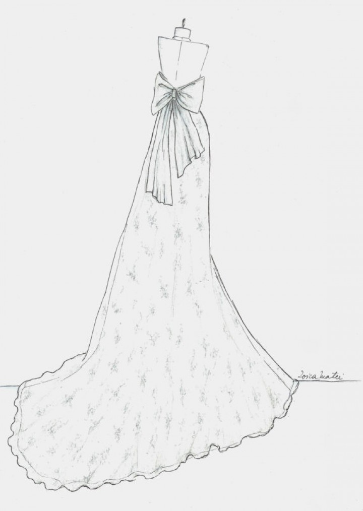 Ball Gown Drawing At Getdrawings Com