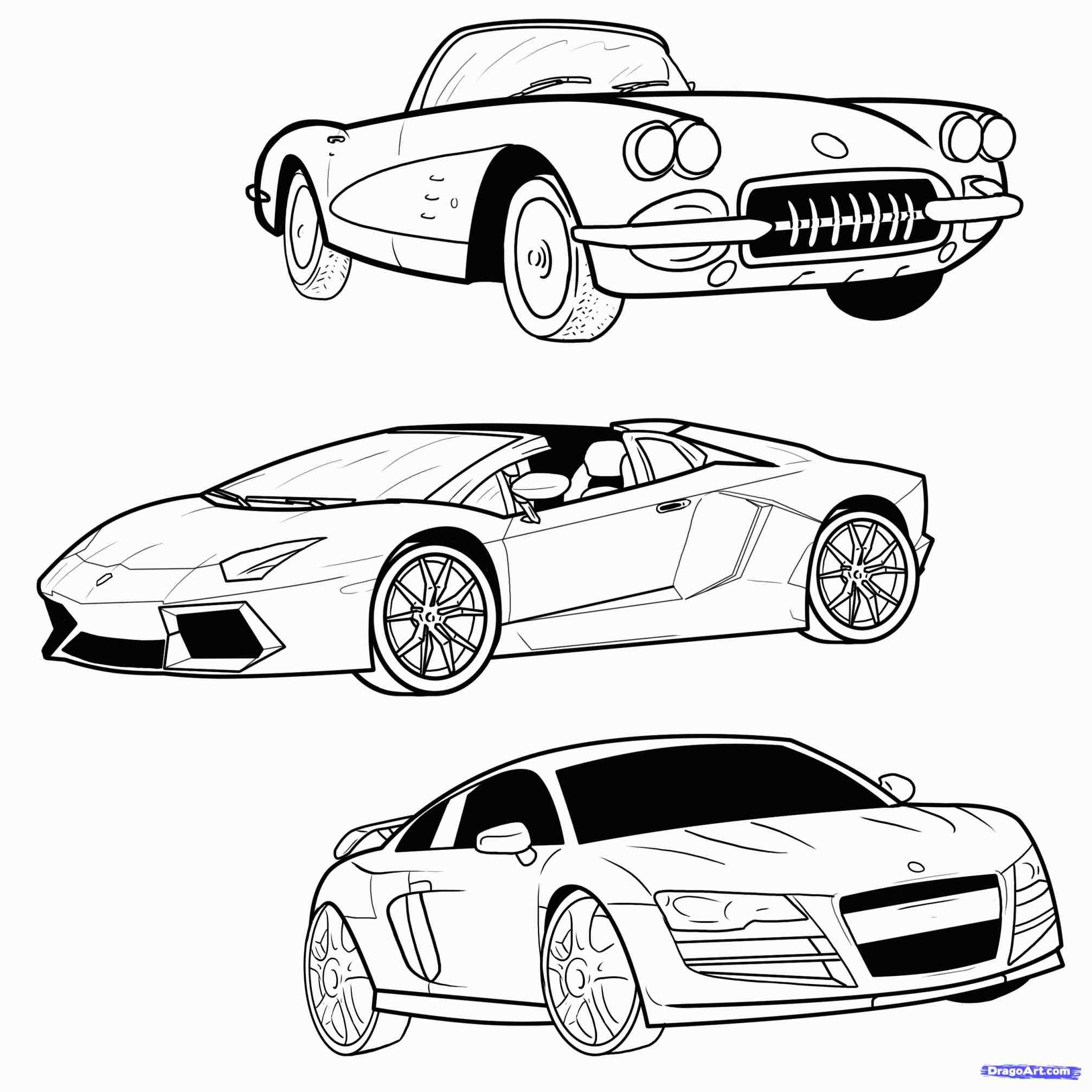 Drift Car Drawing At Getdrawings