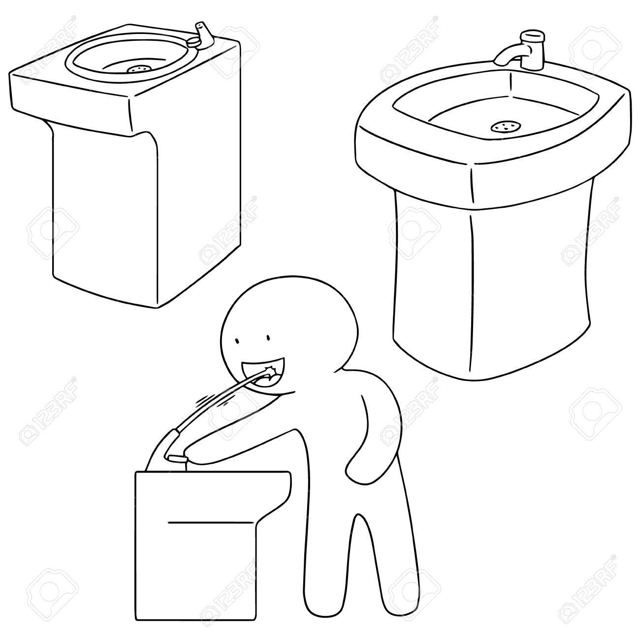 Drinking Fountain Drawing At Getdrawings