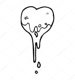 1024x1024 blood dripping heart cartoon stock vector lineartestpilot [ 1024 x 1024 Pixel ]