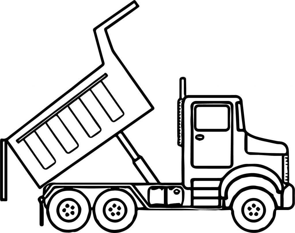 Dump Truck Drawing At Getdrawings