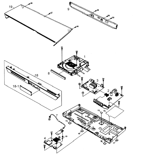 small resolution of 2549x2740 panasonic blu ray dvd player parts model dmpbdt230p sears