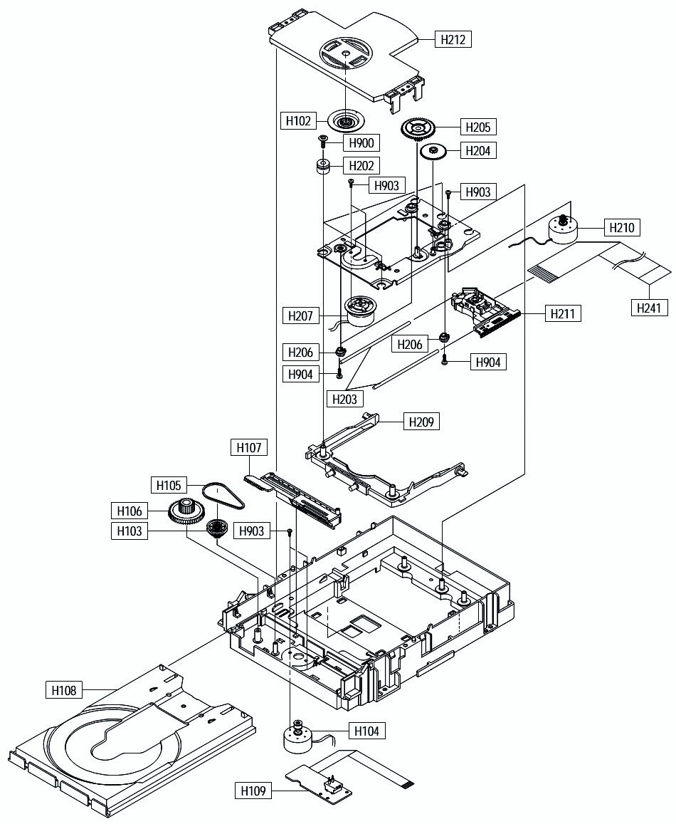 medium resolution of 950x1157 samsung dvd p244 exploded view smps circuit diagram electro help