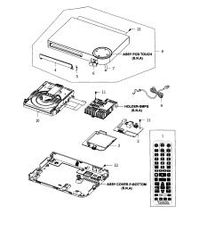 2545x2456 samsung dvd player parts model bdf5100zajt04 sears partsdirect [ 2545 x 2456 Pixel ]