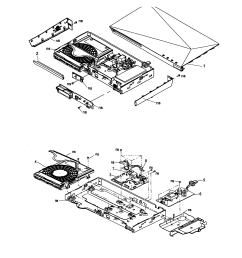 2535x2465 sony dvd player parts model bdpbx510 sears partsdirect [ 2535 x 2465 Pixel ]