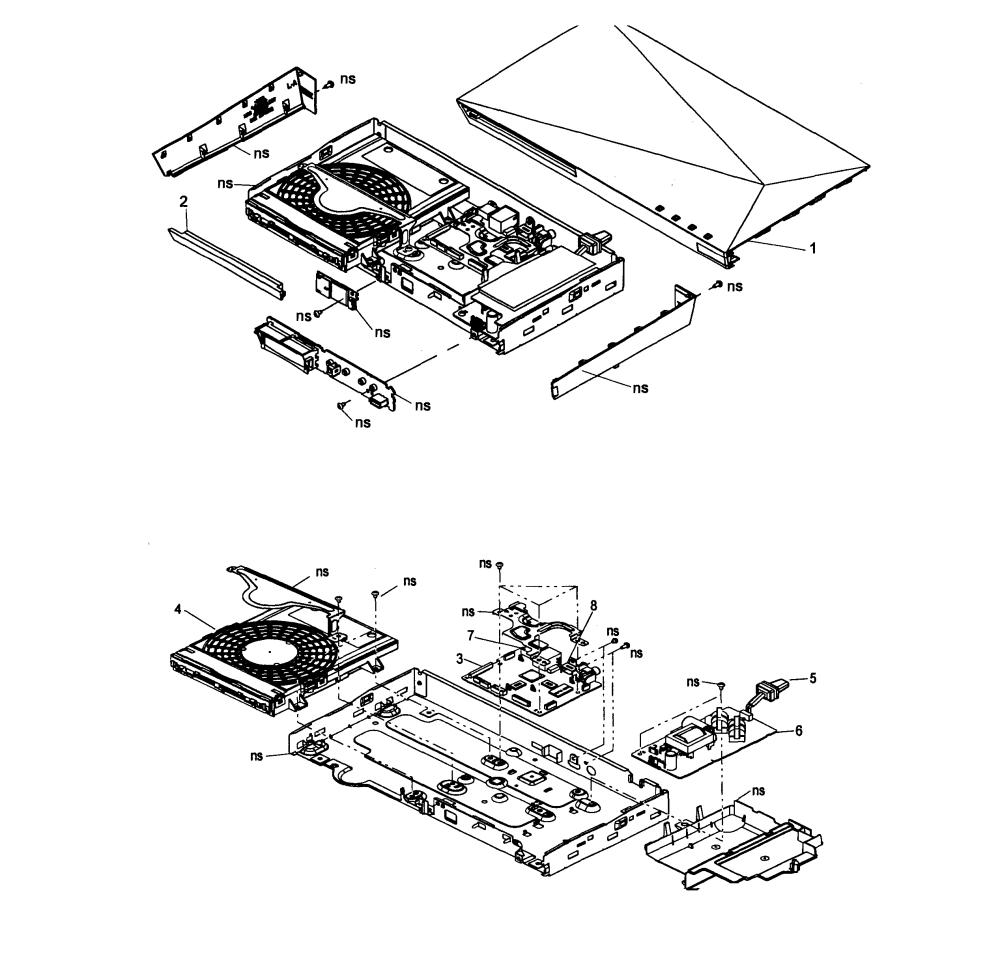 medium resolution of 2535x2465 sony dvd player parts model bdpbx510 sears partsdirect