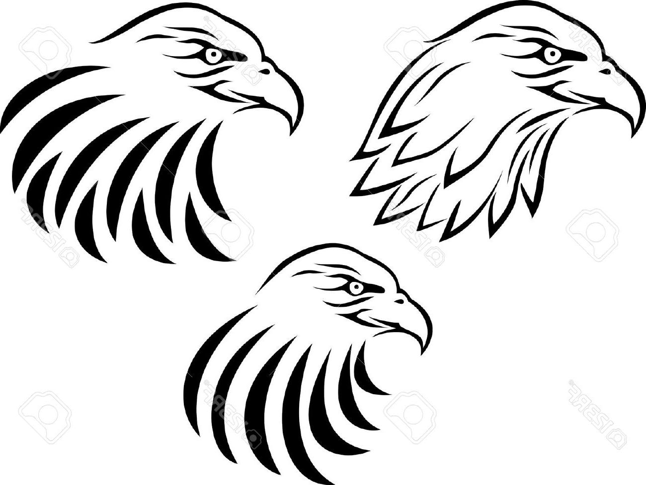 Eagle And Flag Drawing At Getdrawings