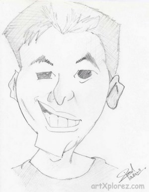 boy anime easy pencil drawing face drawings boys sketches sketch handsome side getdrawings human hair cartoon