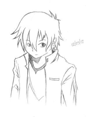 anime drawings boy easy drawing guy random simple manga beginners getdrawings deviantart paintingvalley