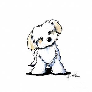 dog easy cartoon drawing drawings standing getdrawings