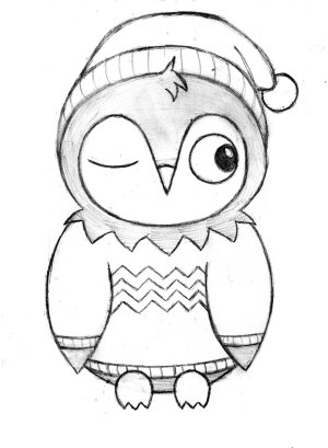 easy owl drawing simple designs coloring draw cartoon pages face drawings step sketch bear template getdrawings outline printable