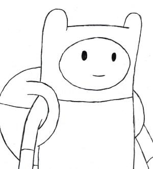 drawing easy adventure finn anime drawings beginner beginners things google getdrawings