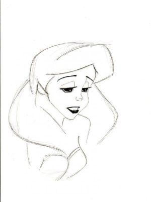 easy sad drawings simple drawing pencil sketch ariel angel sketches google getdrawings nice deviantart salvo gemerkt von